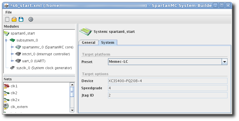 SpartanMC System Builder